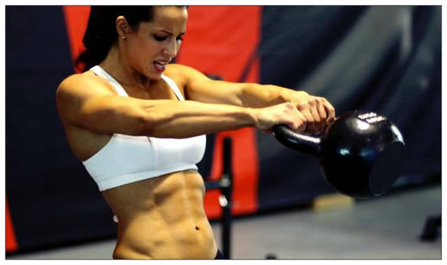 Fat loss kettlebell workout