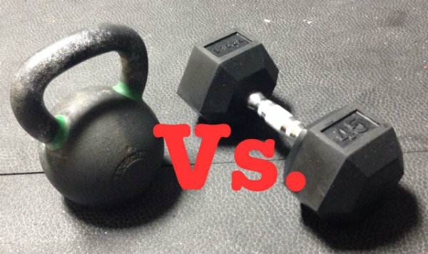 Kettlebells Vs. Dumbbells
